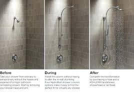 hand held shower head home depot. Home Depot Hand Held Shower Heads Columns Bathroom New Products Intended For Head Decorations 1 Delta Handheld A