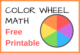 Various color wheels show primary colors, secondary colors and tertiary colors. Color Wheel Math Taming Little Monsters