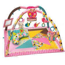 Infantino Go GaGa Deluxe Twist and Fold Gym Pink Tar