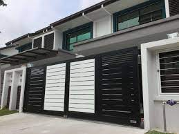 This metal grey, white, and black hue makes it a part of your modern and contemporary interior décor with the ultimate texture. Main Gate Design Home Malaysia Journal House Ideas