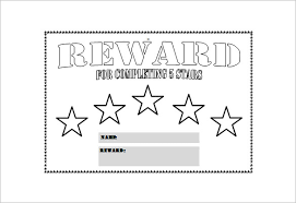 13 Reward Chart Template Free Sample Example Format