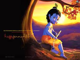 Lord Krishna Cartoon Images For Wallpaper
