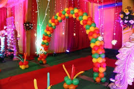 tent decoration at home for birthday