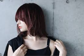 絶対なれる可愛い髪型ヘアスタイルのミディアムストレートカタログ