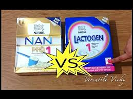 Nan Pro 1 Dosage Chart Nestle Nan Pro Vs Lactogen Best Infant Milk Formula Best Baby Formula Milk Nan Pro 1 Review