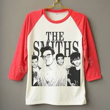 Baseball Unisex Sleeve Long The Men Women Raglan Band Rock Smiths Alternative Shirt Jersey English