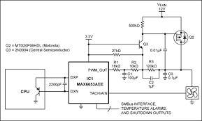 circuit converts pwm fan drive to linear and reduces acoustic this circuit improves the standard approach of figure 1 by including a lowpass