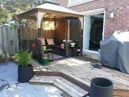furniture deck. outdoor gazebo for small yard patio furniture backyard backyardoasis garden deck