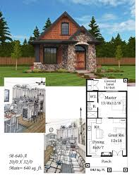 montana a mark stewart small cottage house plan