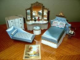 dollhouse furniture cheap. Ideal\u0027s 1964 Petite Princess Bedroom Pieces Dollhouse Furniture Cheap