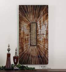 >the 58 best uttermost wall decor images on pinterest barn wood  uttermost beginnings this 3 demensional artwork is hand painted on wooden boards with metallic metal wall art