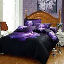 royal purple comforter set cotton purple rose fl print bedding sets dark purple duvet cover full