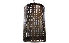 sotheby s home designer furniture lighting global views cut drum pendant