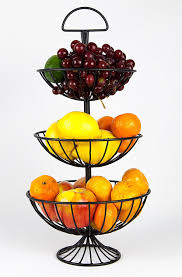 Useful UH FB177 3 Tier Decorative Wire Fruit Baskets Stand: Amazon .
