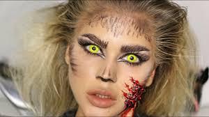 easy sfx werewolf makeup tutorial