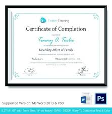 Certificate Of Training Completion Template Free Certificate Maker Certificate Generator Training