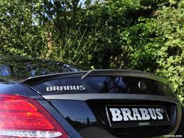 2015 BRABUS C600 based on Mercedes-AMG C63S Sedan - Spoiler | HD ...
