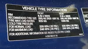 Bmw Run Flat Tyre Pressures Chart Mercedes Benz Glc Class Tyre Pressure Carsguide