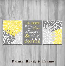turquoise and blue in a kitchen shocking yellow and gray kitchen decor on grey and mustard yellow wall art with adorable images of yellow and grey wall decor best home design