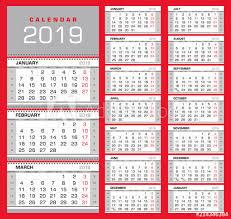 Week Number Calendar Wall Quarterly Calendar 2019 With Week Numbers Week Start