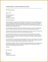 Business Correspondence Letters Examples 7 Official Correspondence Letter Examples Pdf Examples