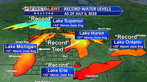 Great Lakes Achieve Record Levels For July Still Rising