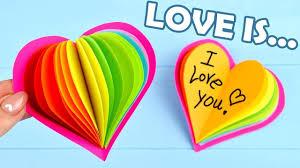 diy valentine heart gift card gift for girlfriend or boyfriend valentine day 2018