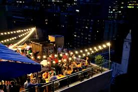 rooftop lighting. furniturerooftop lighting terrific views from our nyc rooftop bar shelburne design n