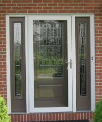 front door with sidelights lowesTherma Tru Doors for Your Terrific House Design Lowes Fiberglass