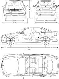 BMW 3 Series bmw 3 series height : The-Blueprints.com - Blueprints > Cars > BMW > BMW 3-series (E90 ...