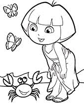 Please share this dora the explorer coloring games with others that enjoy coloring online. Free Dora Coloring Pages Sheets Topcoloringpages Net