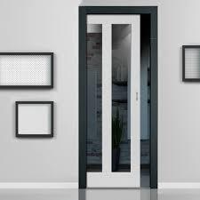 single pocket doors. single pocket doors glass