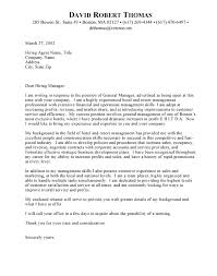 Sports Management Cover Letters Cover Letter Template Hospitality Resume Examples