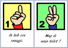 Afbeeldingsresultaat voor kind vinger opsteken