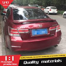 honda accord 2008 modified. for honda accord spoiler high quality abs material car rear wing primer color 2008 modified