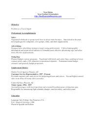 Travel And Tourism Curriculum Vitae Cv Samples Job And Resume