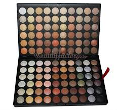 pro 120 full color eyeshadow palette eye shadow makeup 4 warm cosmetics conn matte and shine in eye shadow from beauty health on