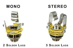 wiring mono and stereo jacks for cigar box guitars amps more the differences between mono and stereo phone jacks