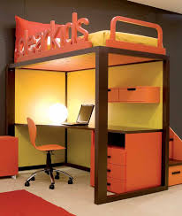 bunk bed office underneath. Bunk Beds For Kids With Desks Underneath Bed Office