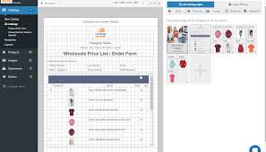 Products Order Form Product Order Forms Easily Create Order Forms Catalogs With