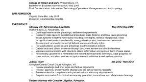 Associate Lawyer Resume Sample Civil Litigation Attorney Associate