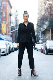 the hotpants guide to interview attire do the hotpants do the hotpants dana suchow professional outfit interview suit w in suit pantsuit pant suit updo