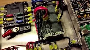 race car fuse box race car electrical panel overview