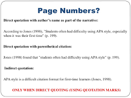direct qoute how to properly cite a direct quote in apa format