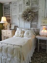 Interior design ideas bedroom vintage Bedroom Furniture Diy Vintage Bedroom Ideas Cover Wall With Vintage Shutters The Spruce Vintage Bedroom Decorating Ideas And Photos