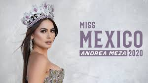 Miss Universe Mexico 2020, Andrea Meza | Official Photoshoot - YouTube