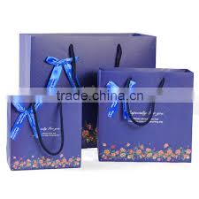 description hot type colors thermal design logo printed foldable paper gift bags