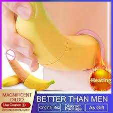 BODYPRO disguise <b>Banana Dildo Vibrator</b> For Women Realistic ...