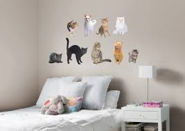 cats fathead wall decal