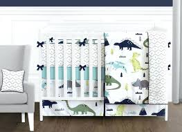 modern navy blue gray white lime green dinosaur boys girls baby bedding crib set nursery sets and grey